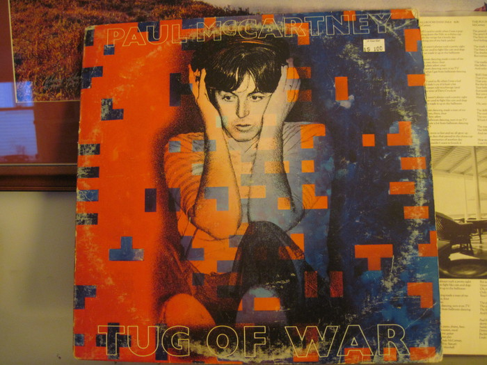 One Dollar Record Review  Tug of War Paul McCartney